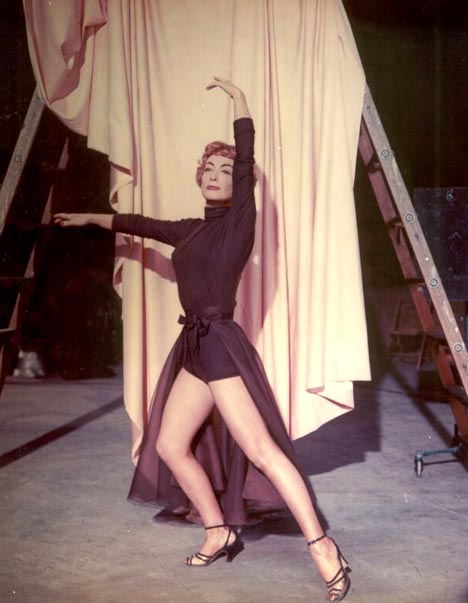 Joan Crawford, Torch Song, 1953 – still has her dancing legs at age 49