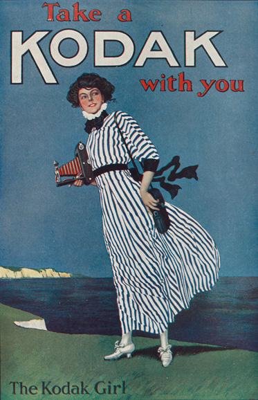 The Kodak Girl(1910s?)