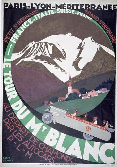 Tour du Mont Blanc par des autocarsPLM