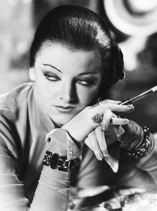 Myrna Loy With A Cigarette Holder Matthew S Island Of Misfit Toys