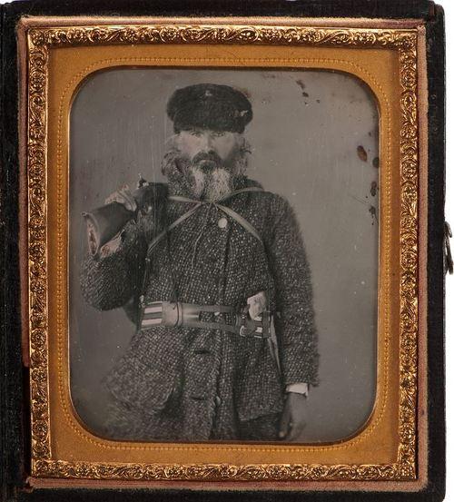 Pioneer/Woodsman in North America, circa1850s