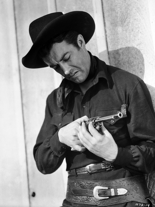 "Robert Taylor in ""Billy the Kid"", 1941"