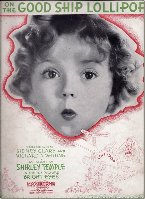 On the Good Ship Lollipop – Shirley Temple | Matthew's Island of ...