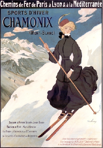 Ski Chamonix, MontBlanc