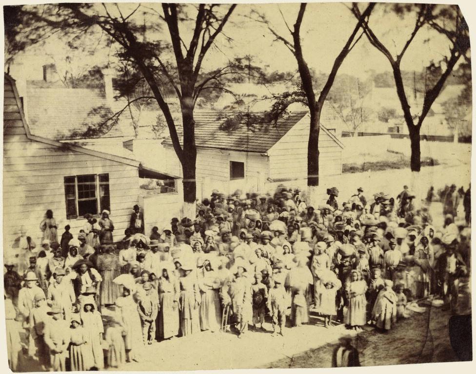 Slaves, South Carolina,1862