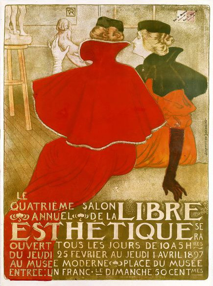 Salon de la Libre Esthetique, Paris,1897