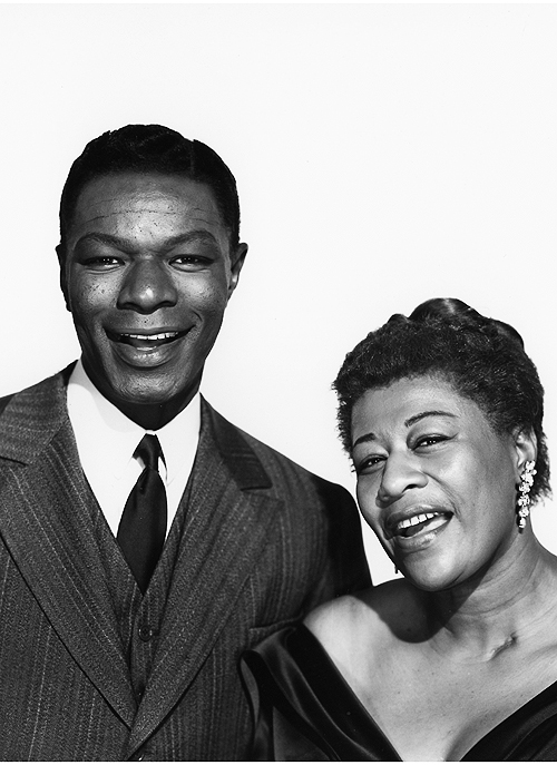 Nat King Cole and Ella Fitzgerald