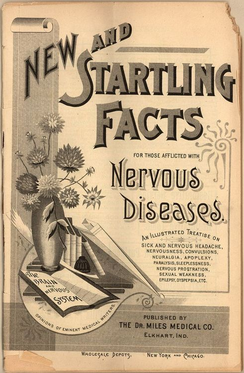New and startling facts for those afflicted with nervousdiseases