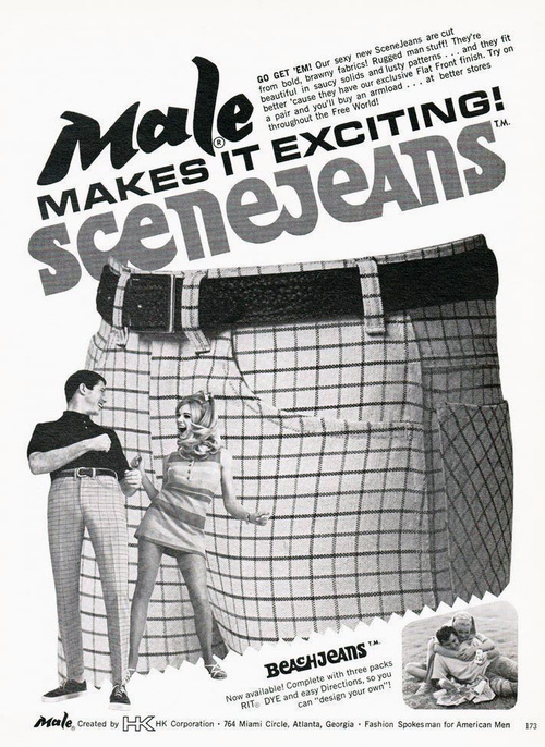 Scene Jeans – in saucy solids and lustypatterns