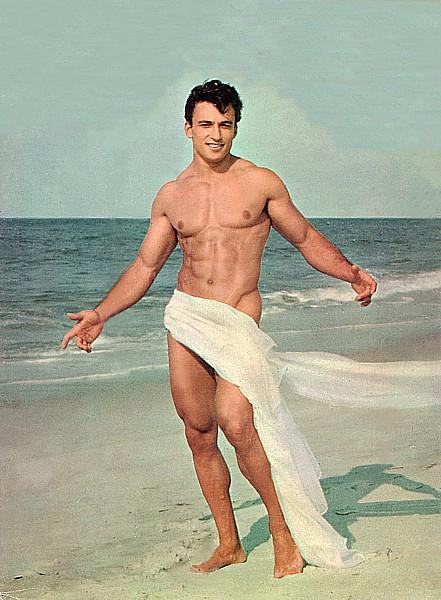 """1950s """"physique"""" model"""
