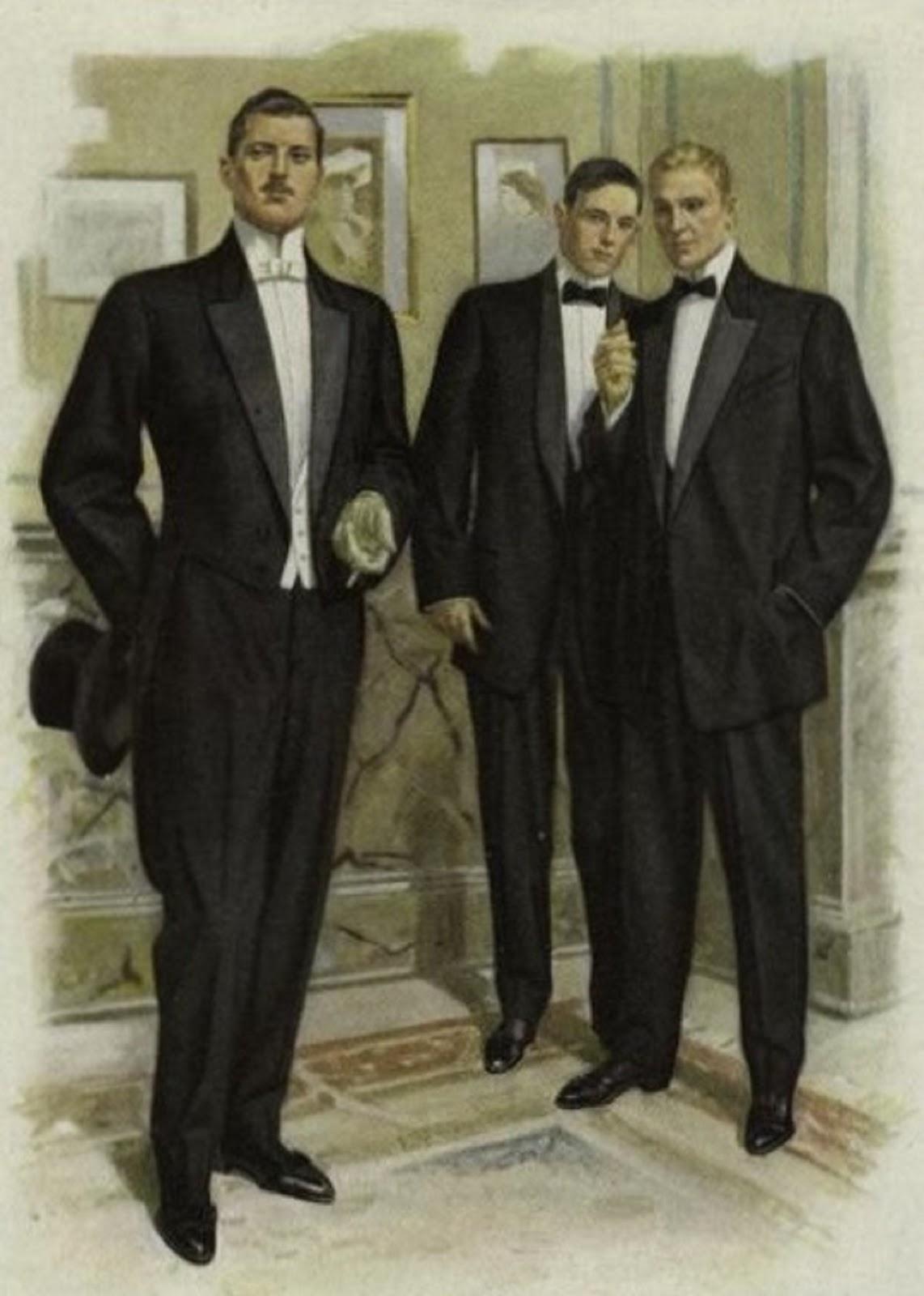 Men's evening wear