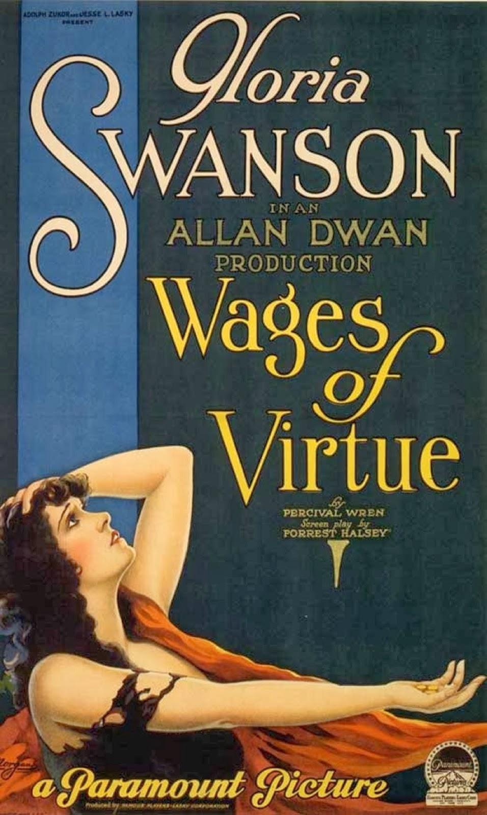Gloria Swanson movie posters, 1920s | Matthew's Island of ...