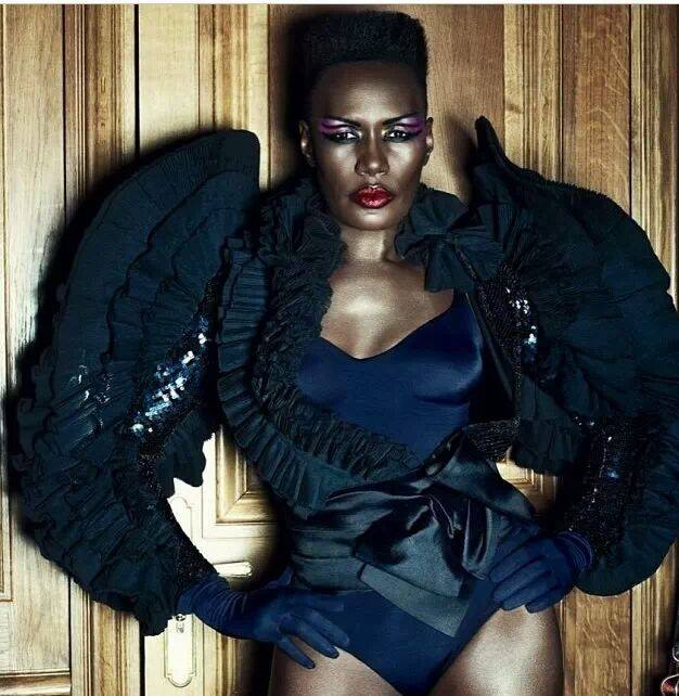 Grace Jones at age 65… wow!