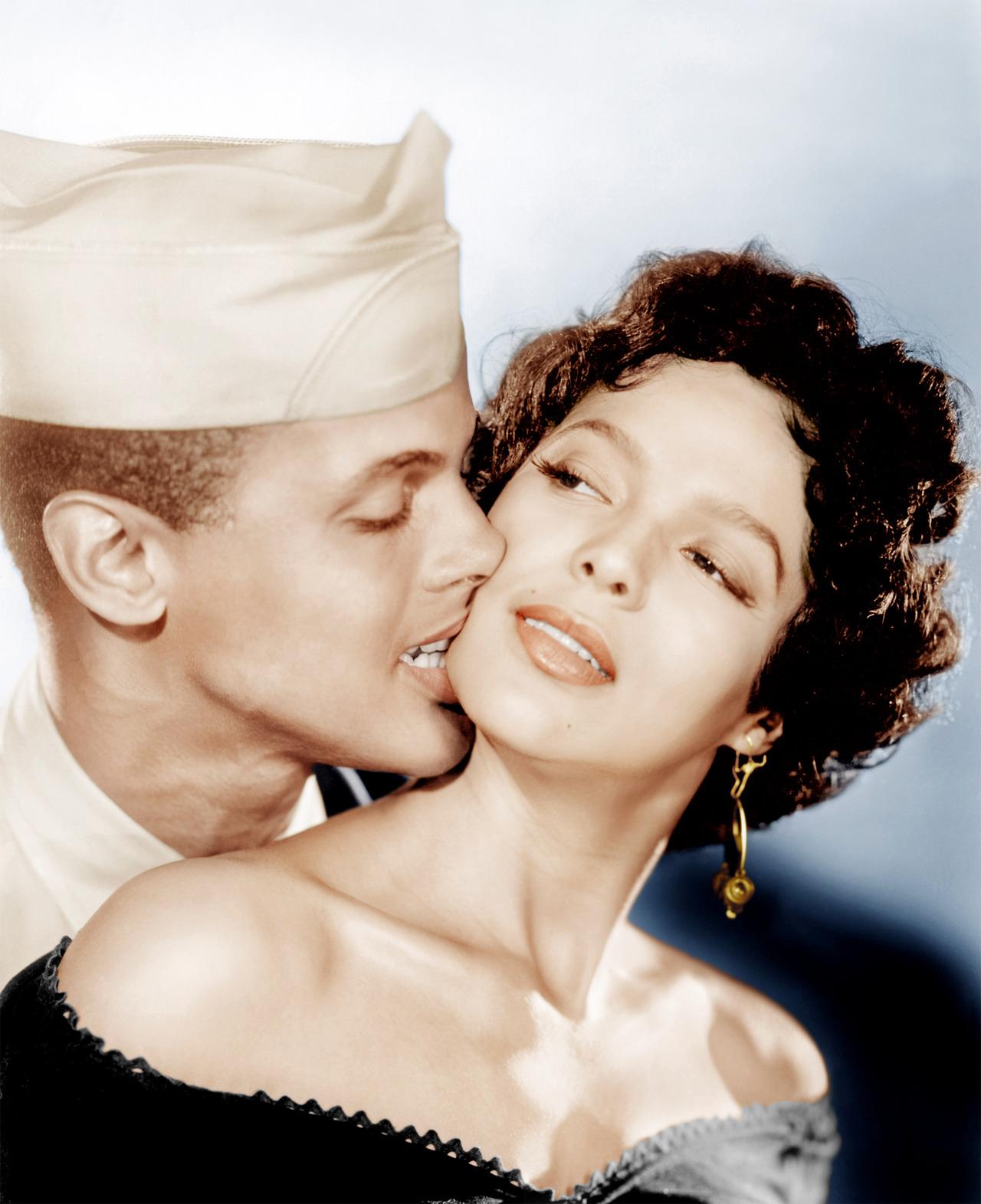 Harry Belafonte and Dorothy Dandridge,1954