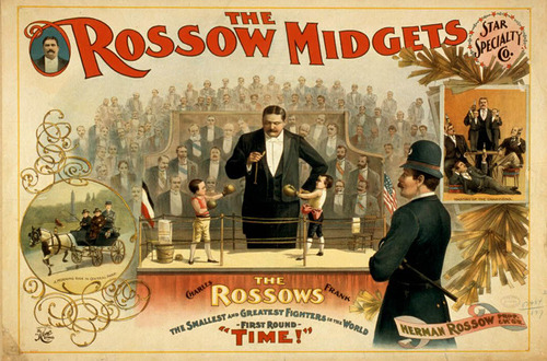The fighting Rossow twin midgets/littlepeople