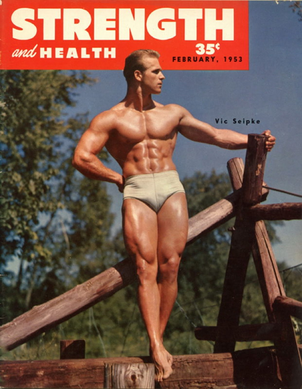 Muscles Magazine 1953 Men Of France Gay Interest Vintage Magazine