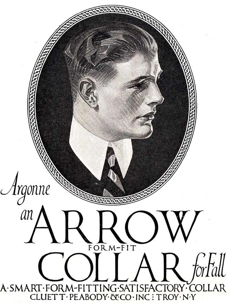 Arrow Collars And Shirts Illustrations By Leyendecker