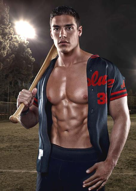 baseball player shirtless000