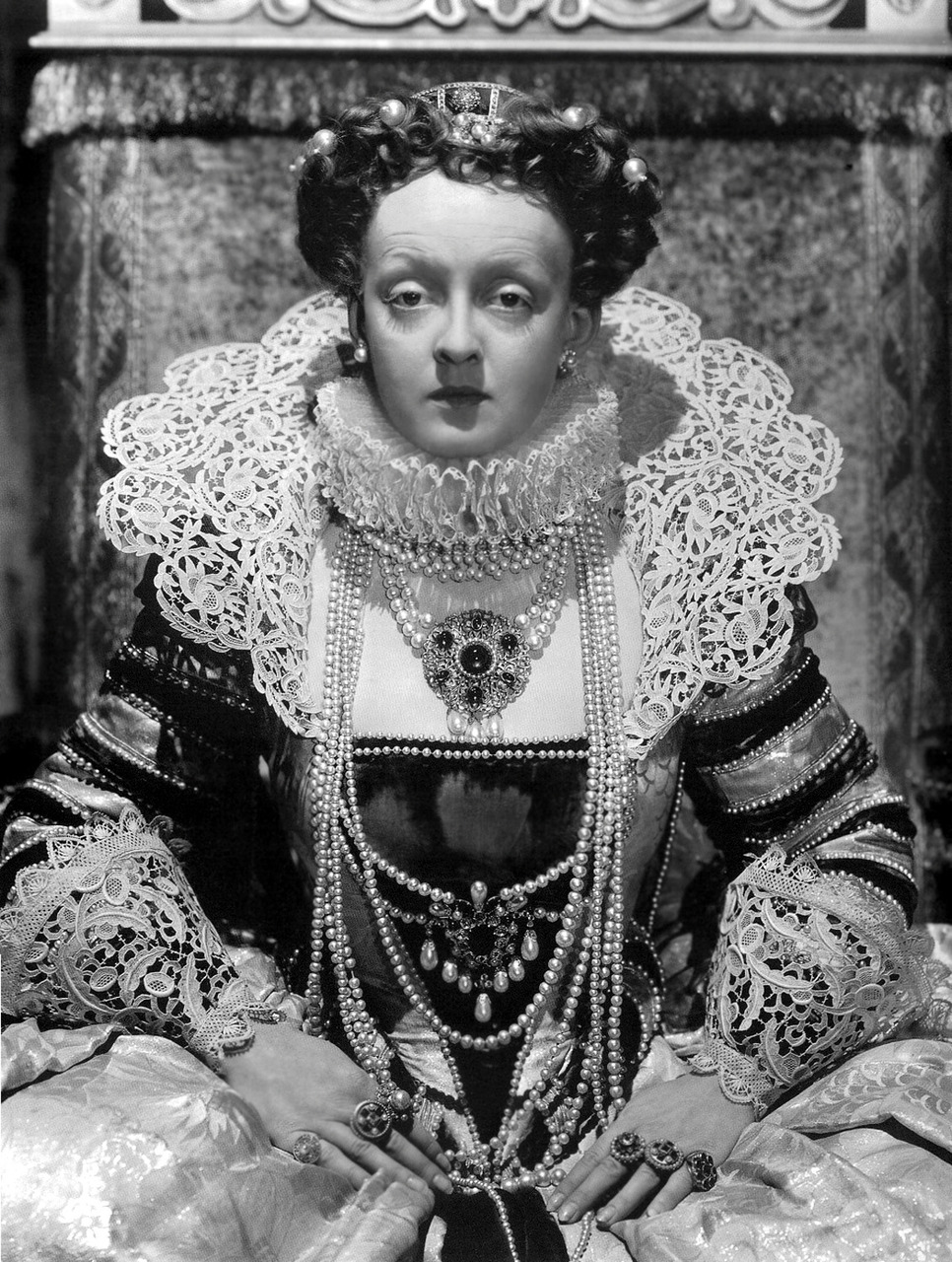 Bette Davis as Queen Elizabeth I