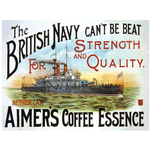 The British Navy can't be beat