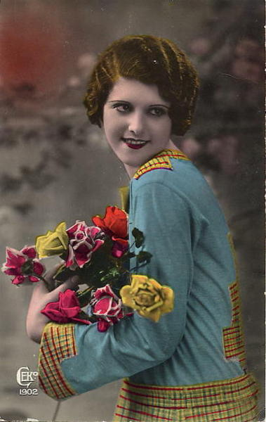 french women postcards 401