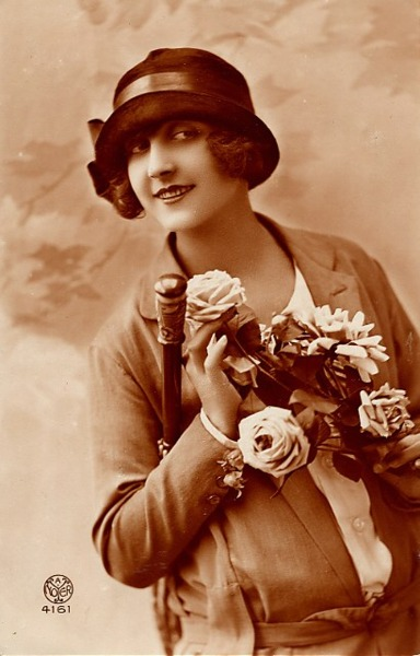 french women postcards 402
