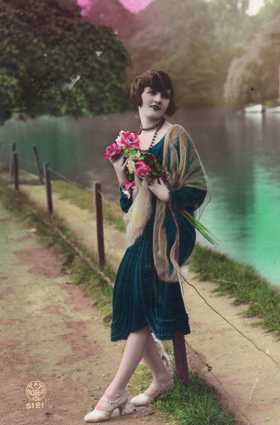 french women postcards 403