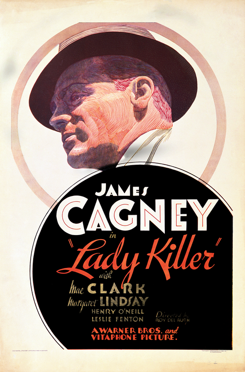 "James Cagney in ""The Lady Killer"""