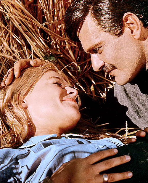 "Julie Christie and Omar Sharif in ""Doctor Zhivago"""