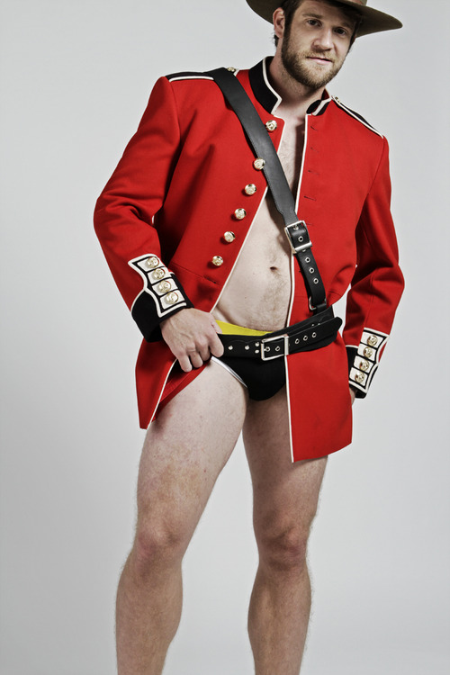 Gratuitous Shirtless Mountie