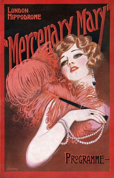 """""""Mercenary Mary"""" at the London Hippodrome,1925"""