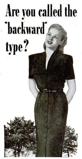 backward type