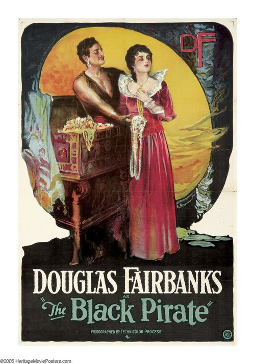 "Douglas Fairbanks Sr. in ""The Black Pirate"", 1926"