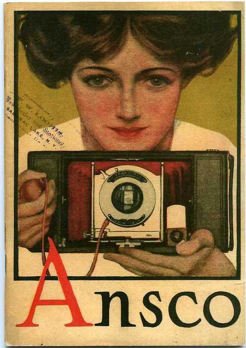 Ansco Camera, circa1910