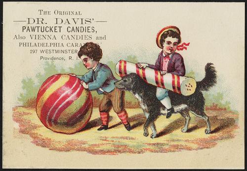 Dr. Davis' Pawtucket Candies,1800s