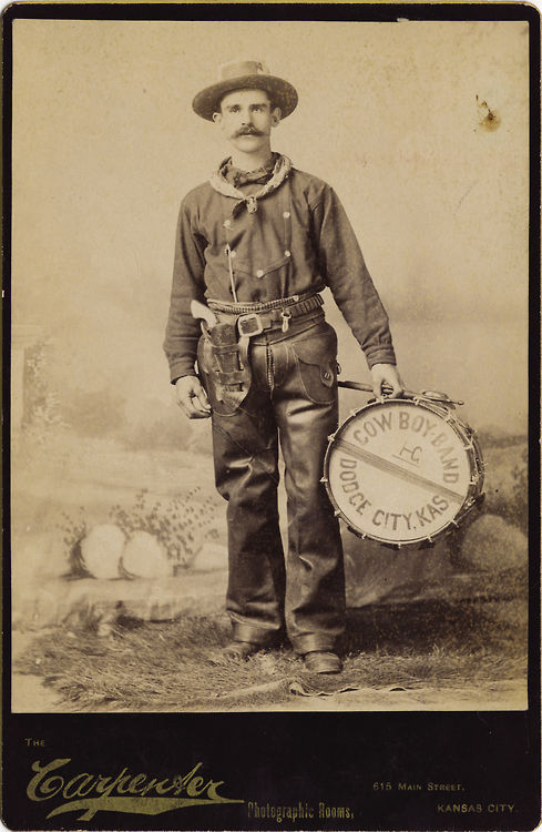 Member of the Cowboy Band, 1800s