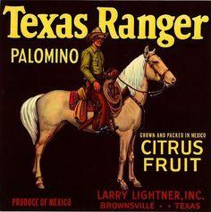 cowboy fruit labels 251