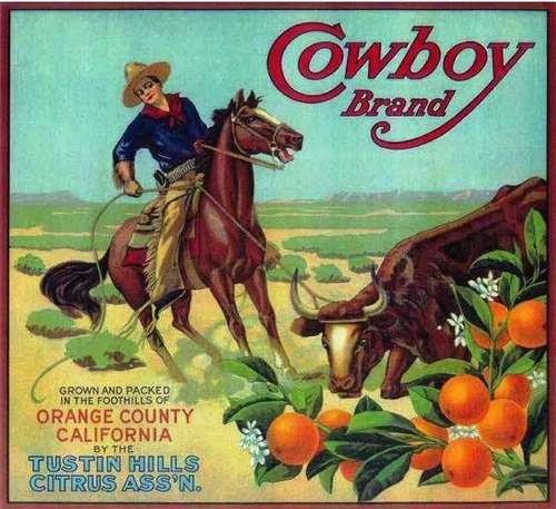 cowboy fruit labels 255