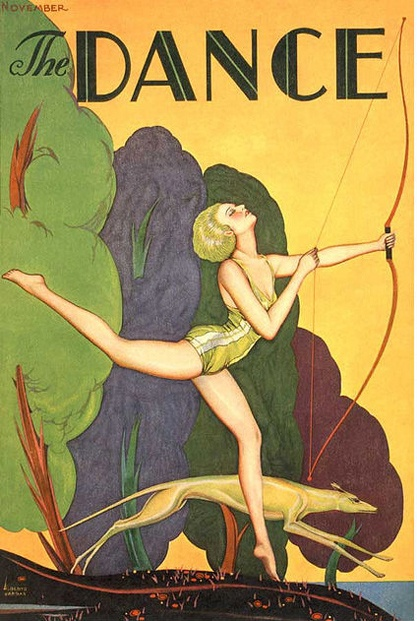 The Dance (magazine cover), 1920s?