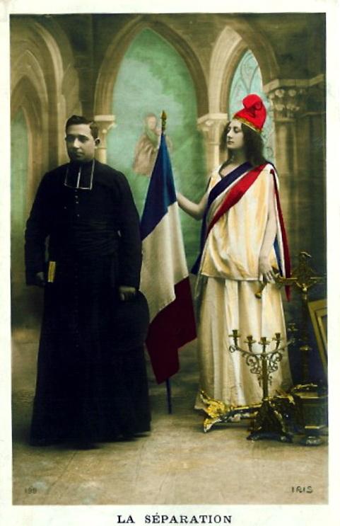 France: La separation entre l'Eglise etL'Etat