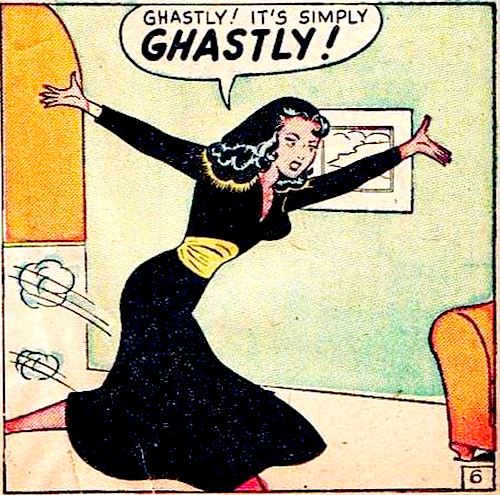 It's simply GHASTLY!