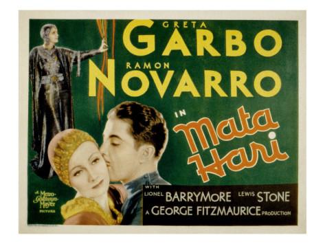 """Movie poster for """"MataHari"""""""