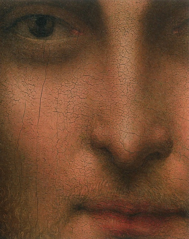 Close up of Jesus (not sure of the artistthough)