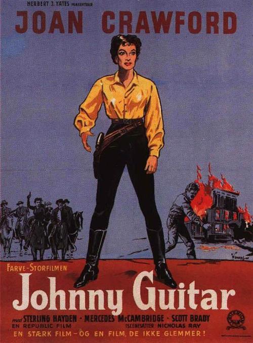 """Joan Crawford in """"JohnnyGuitar"""""""