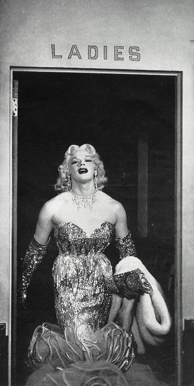 Mario Costello, drag queen,1956
