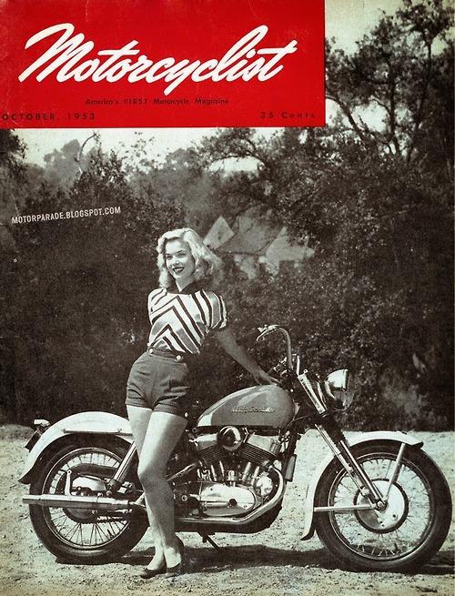 Motorcyclist, 1953