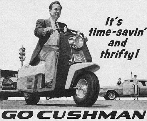 Cushman Motoscooters, 1950s