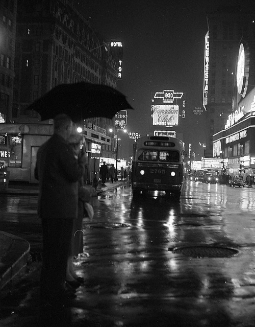 Times Square, NYC, early1950s