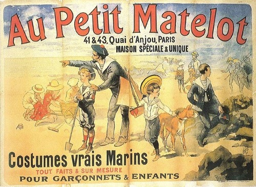 Costumes vrais marins,1800s