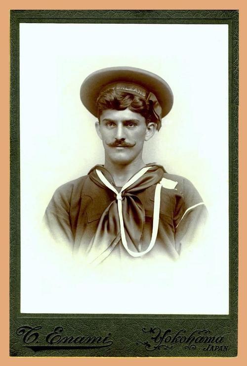 Mustachioed Sailor